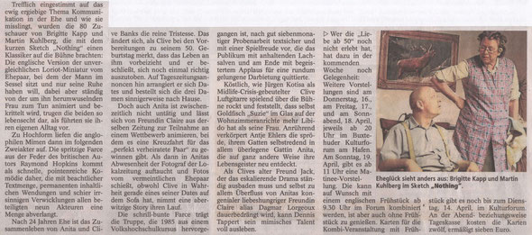 Buxtehuder Tageblatt, 13.04.2015