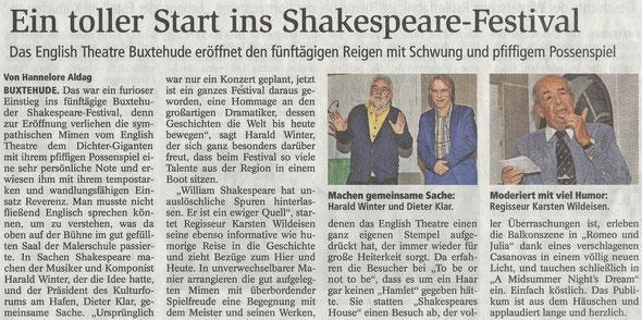 Buxtehuer Tageblatt, 24.11.2016