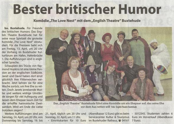 Neue Buxtehuder - Wochenblatt, 11.04.2018