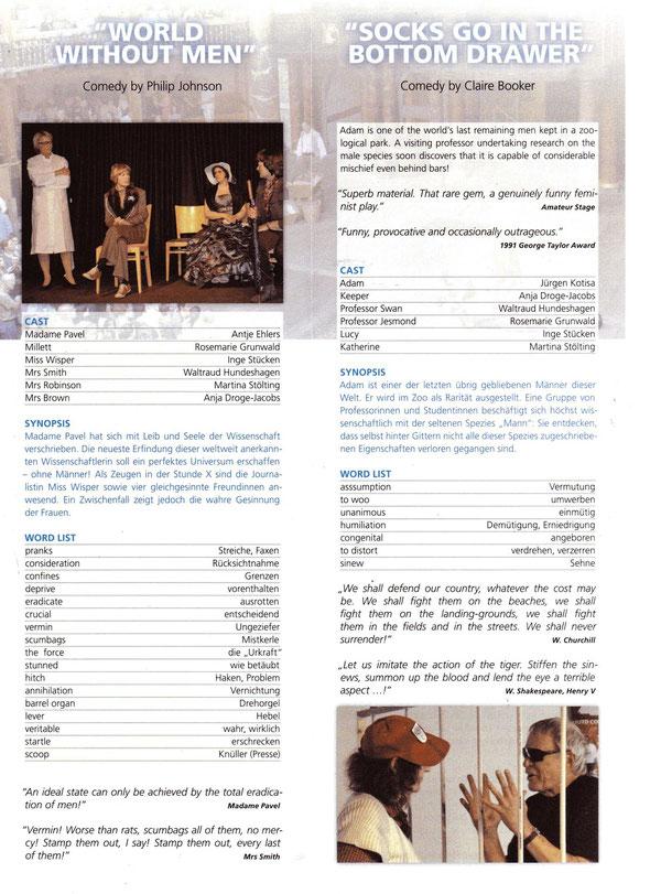 Programme-leaflet
