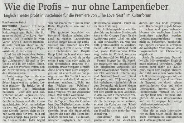 Buxtehuder Tageblatt, 09.04.2018