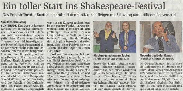 Buxtehuder Tageblatt, 24.11.2016