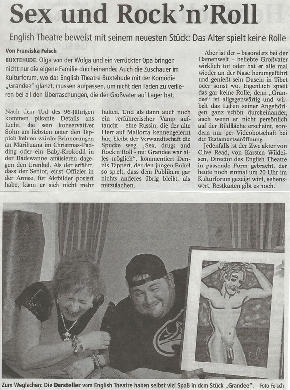Buxtehuder Tageblatt, 08.04.2017