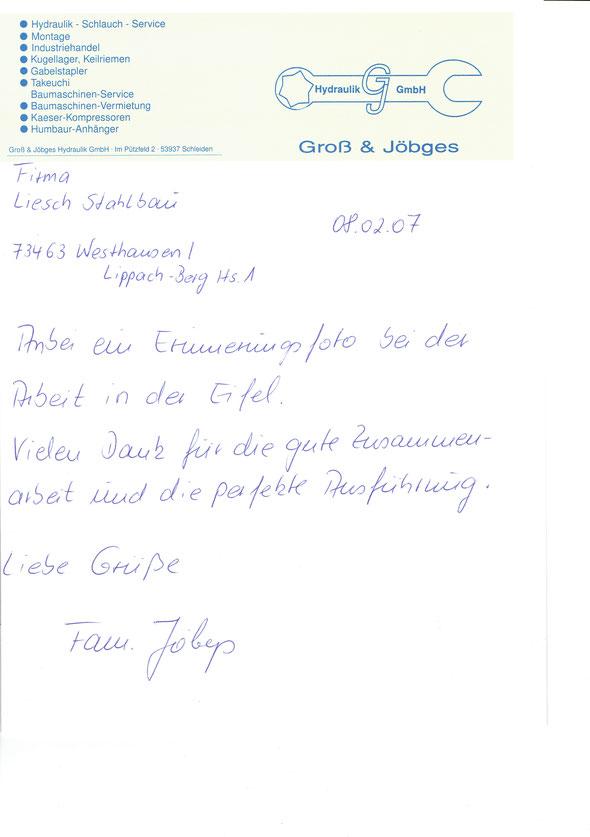 BV Jöbges & Gross - Schleiden, Herhahn-Industriegebiet