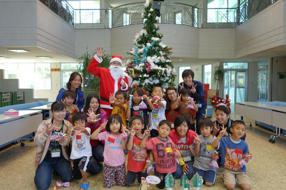 サンタさんとぱしゃり。 はっぴ~クリスマス‼