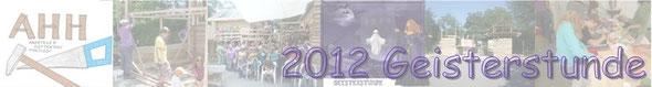 2012 Geisterstunde