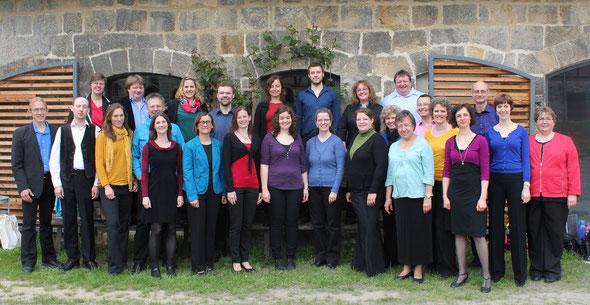 Die compagnia vocale kassel im Mai 2013