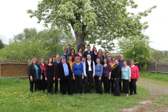 Der Chor im Mai 2013