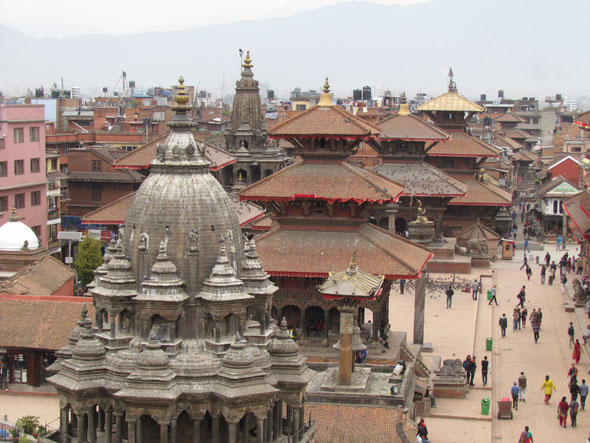 Durbar Square von Patan