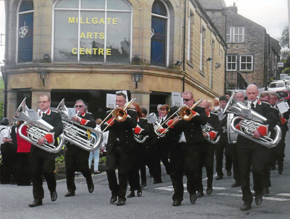 Whit Friday Marches, Delph 2017