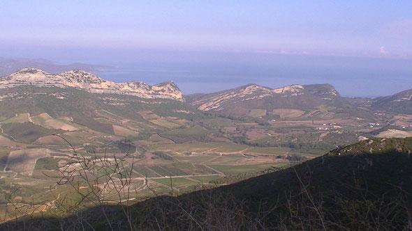 La côte orientale du Cap Corse