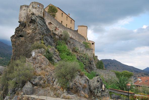La citadelle de Corté