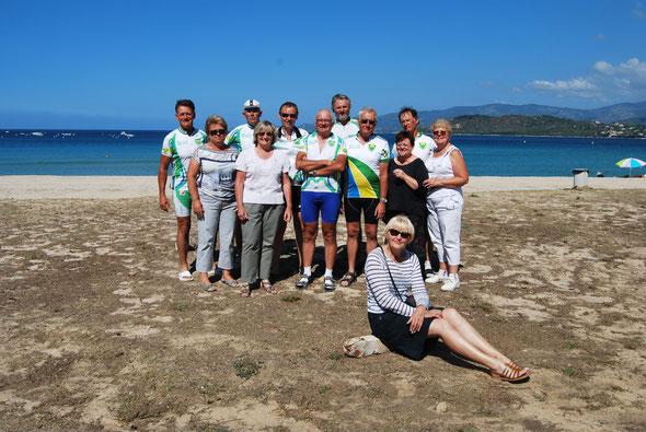 Les cyclos de Bailleval en Corse