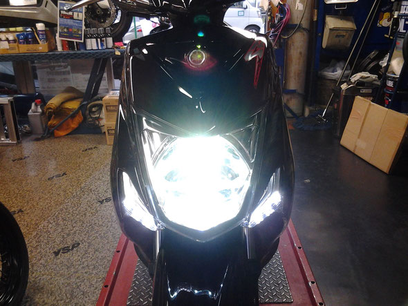 LED ヘッドライトHIビーム(30W)