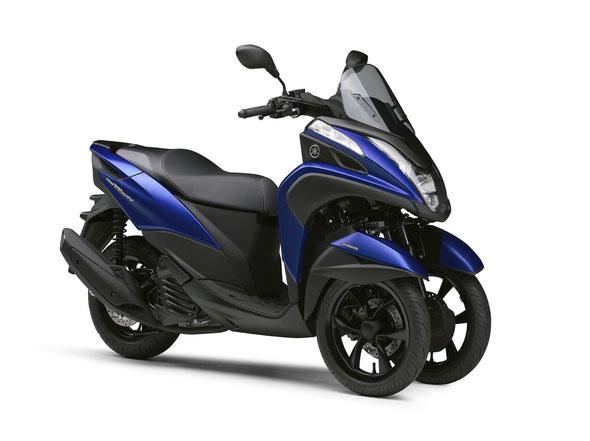 TRICITY 155 ABS マットビビッドパープリッシュブルーメタリック1(ブルー)