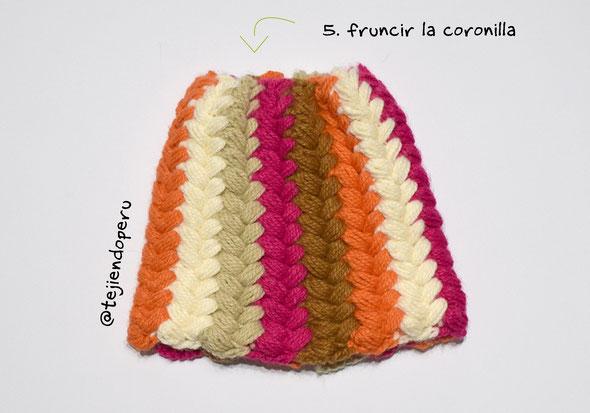 Tutorial: gorro en punto malla con flores (orejeras) tejido a crochet