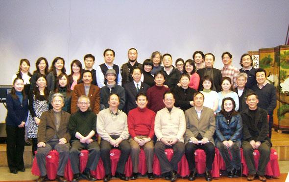 【2009年日本华侨华人文学艺术家联合会成立,吴之东被选为副会长兼事务局局长】