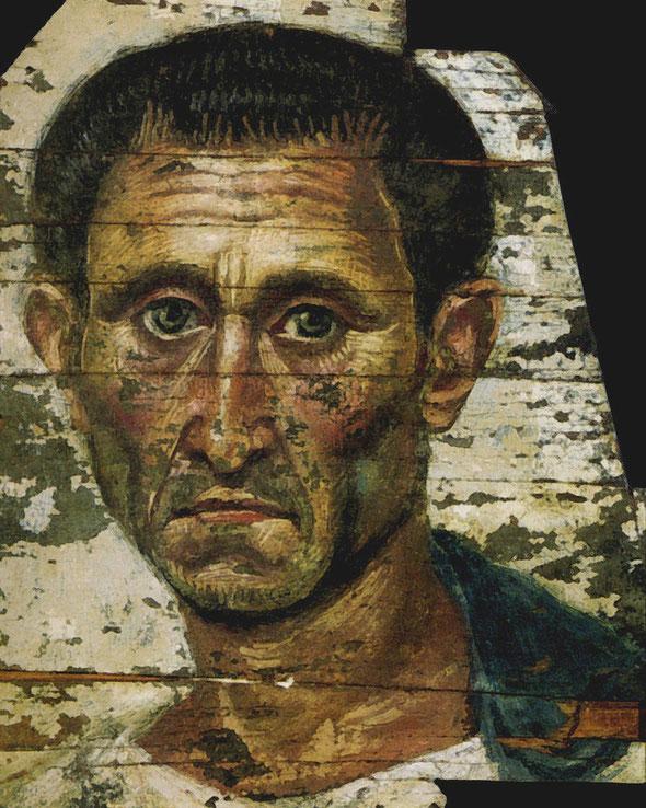Портрет пожилого римлянина. 1 век н.э. Музей им. Пушкина