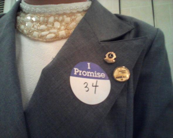 全員に配られた「Promise/約束」
