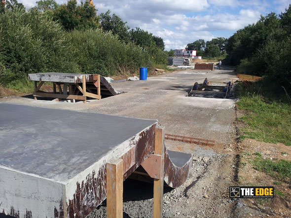 THE EDGE Skatepark Design & Construction - Spot St Jacques de la Lande