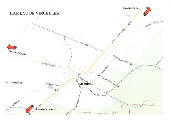 Plan de Vincelles