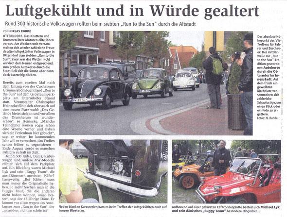 Zeitungsbericht CN & Niederelbe Zeitung 2.9. 2013