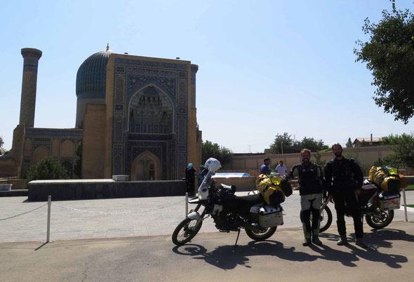Good bye Samarqand...