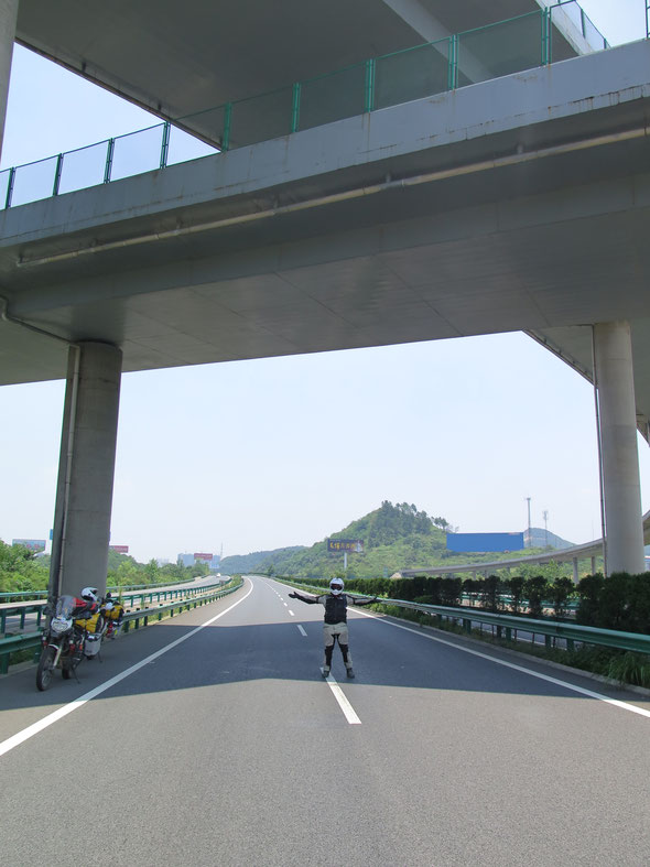 There is nobody on Chinese Highways
