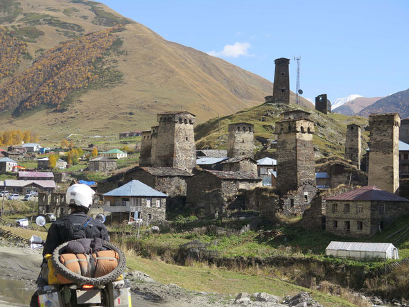 Ancient watchtowers in Ushguli