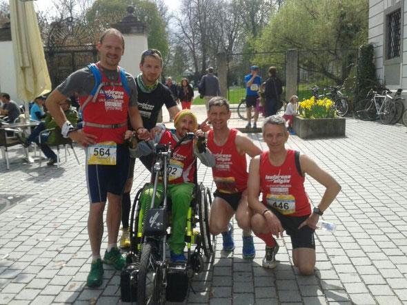 (V.l.) Konrad Meyer, Karsten Pickrodt, Christian Vessele, Stefan Stockinger, Maximilian Heel