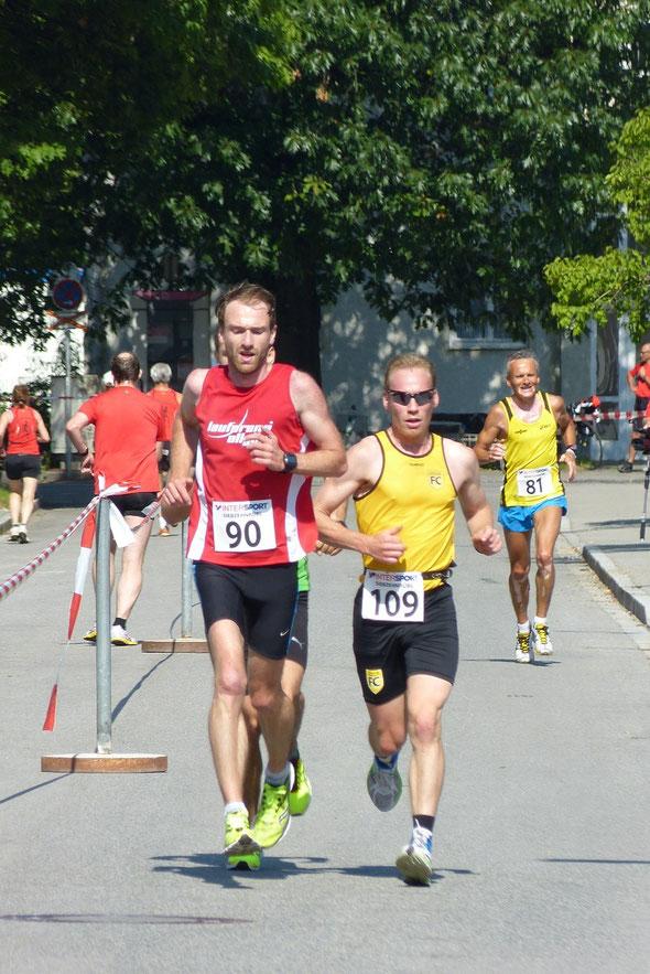 Thomas Deuringer stark beim Dultlauf in Altötting