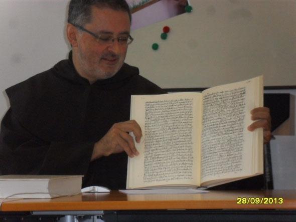 P. Gabriele Morra, Commissario