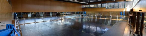 La salle de danse de la SMP