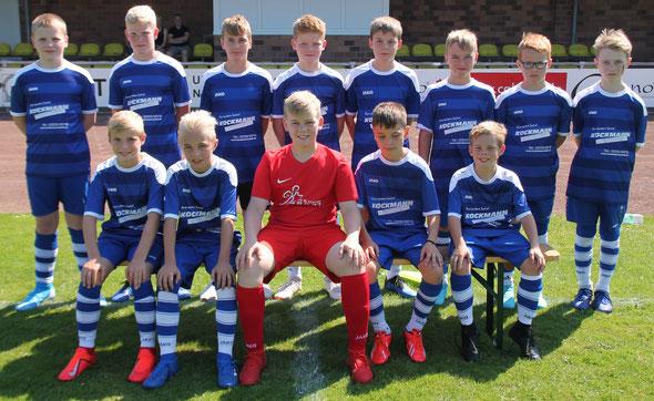 Mannschaftsfoto D1-Jugend