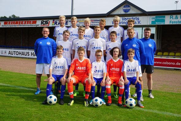 Mannschaftsfoto C1-Jugend