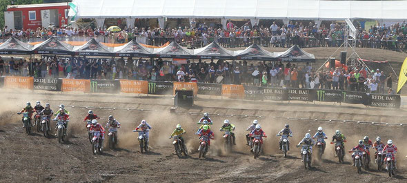 Start MX Open - Foto EJ Kitt