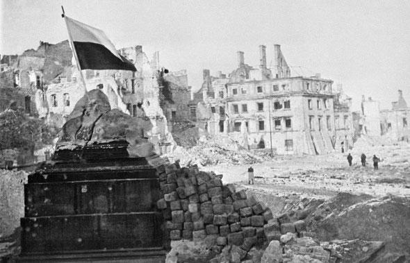 Варшавы освобождение 17 января 1945, Польши освобождение Красной Армией