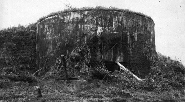 Японский типовой железобетонный пулеметный ДОТ, Советско-японская война 1945, Вторая мировая война 1939-1945