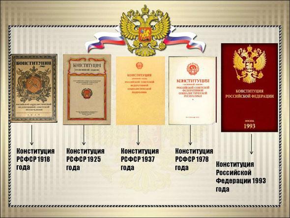 Конституции России