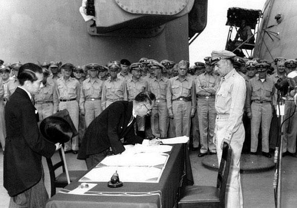 Советско-японская война 1945 г., Курильская десантная операция, Южно-Сахалинская операция, Вторая мировая война, Миссури, Акт о капитуляции Японии, Токийский залив, 2 сентября 1945