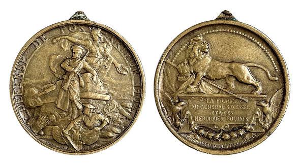 Медаль Защитникам Порт-Артура, Франция