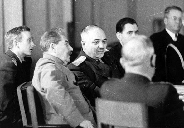 Сталин, Крымская, Ялтинская конференция 1945