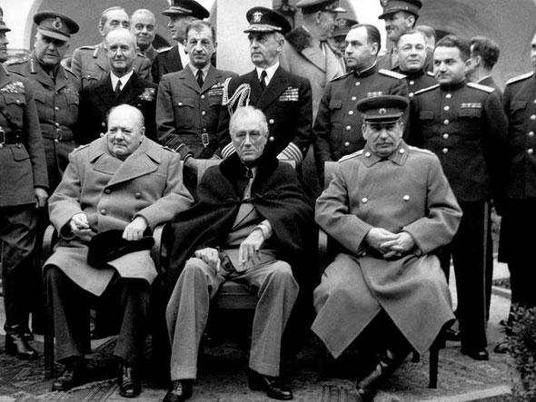 Ялтинская, Крымская конференция 1945