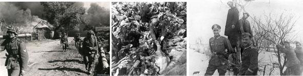Убийства, грабежи и насилия нацистов над жителями России, 1941 / murders, robberies and violence of the Nazis over the inhabitants of Russia, 1941