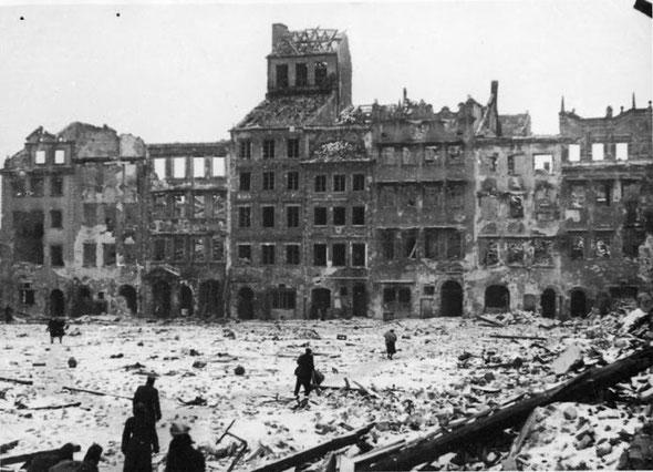 Варшава освобождение 17 января 1945, Польши, Европы освобождение Красной Армией