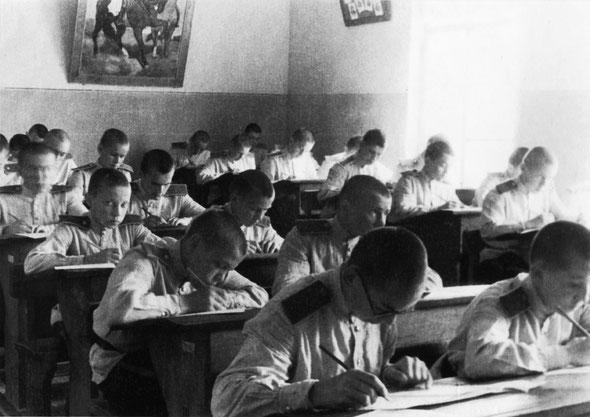 Учебное занятие в Воронежском СВУ / Class in the Voronezh Suvorov military school