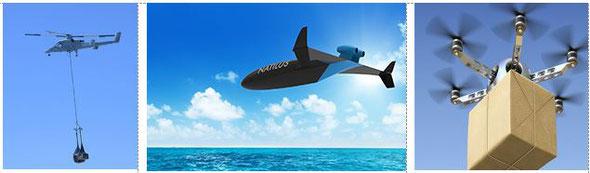 Общий вид БПЛА / General view of the UAV
