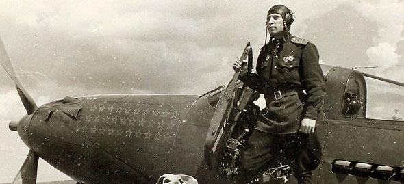 Покрышкин А.И., Р-39 Аэрокобра