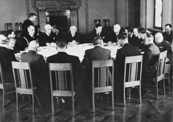 Крымская, Ялтинская конференция 1945
