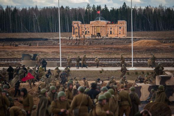 Штурм Берлина, военно-историческая реконструкция, Патриот, 2017